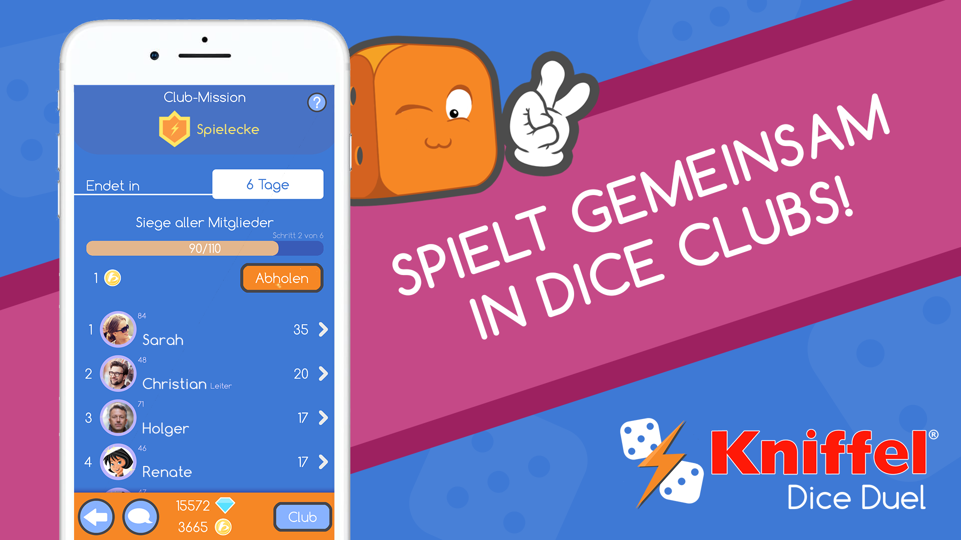 Dice Clubs Kniffel